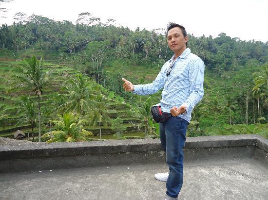 Bali Kadek - Private Tour Driver: Kadek at the rice field.