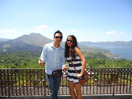 Bali Kadek - Private Tour Driver: kadek and i at mount batur.
