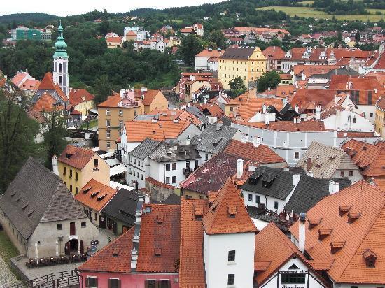 Historic Center of Cesky Krumlov : 童話の世界