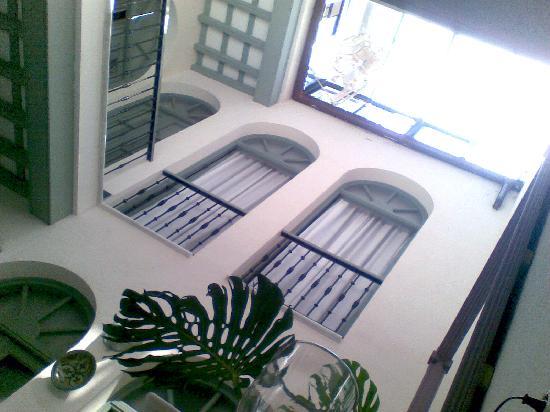 La Fonda Barranco: central patio