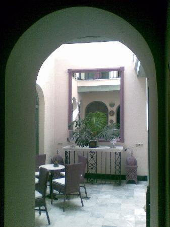 La Fonda Barranco: central patio ground floor