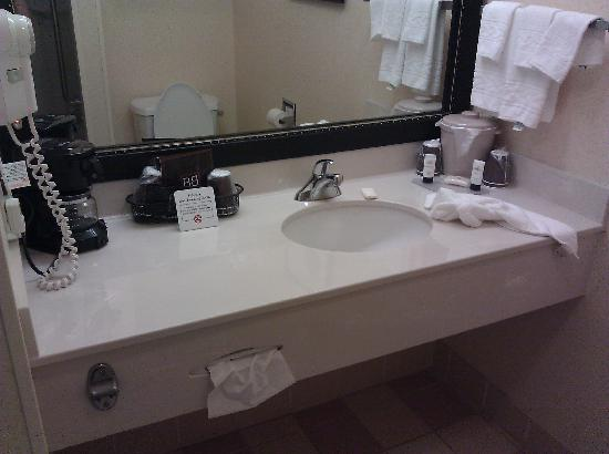 Fairfield Inn & Suites Killeen: Vanity