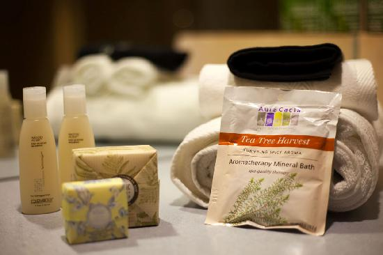 Inn at The Black Olive: Organic beauty products