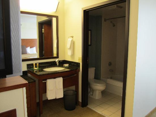 Hyatt Place Minneapolis/Eden Prairie: outside bathroom area