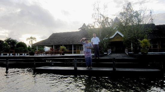 Paramount Inle Resort : The staff...She is really helpful and friendly! Thank you!
