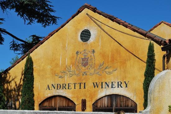 Napa Valley Wine Country Tours: Andretti