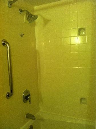 Courtyard Charlotte City Center : Shower