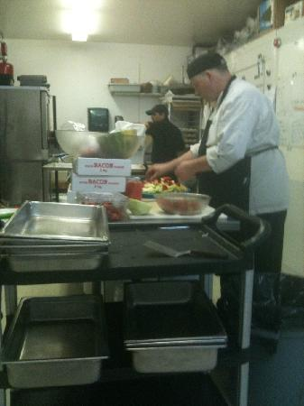 The Nest Grill: chefs at eagles nest catering
