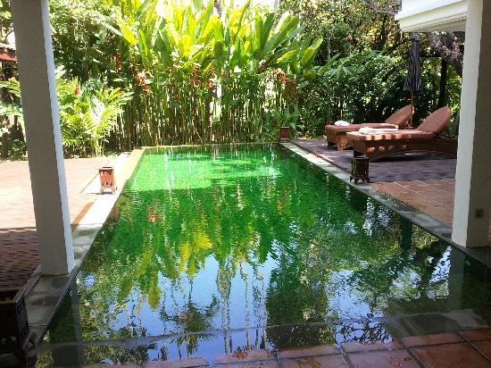The Dhara Dhevi Chiang Mai: Private pool