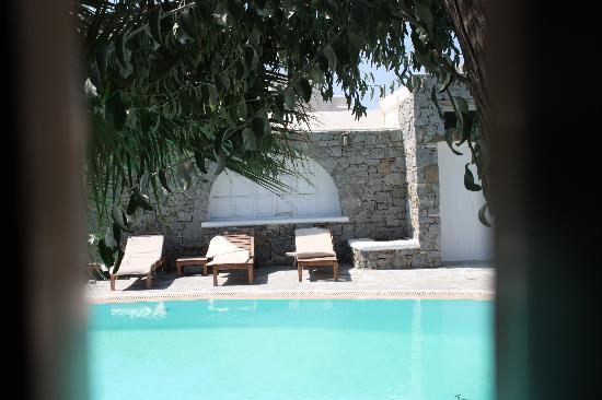 Vanilla Hotel : vista dalla camera affacciata sulla piscina