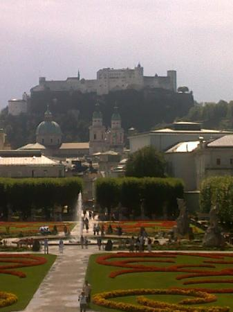 Hotel Via Roma : View from Mirabelle castle