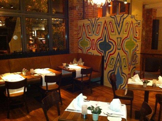 Das Speisezimmer: restaurant innen