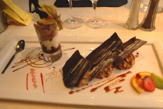 L'Ecume Gourmande : mille-feuilles café cacao