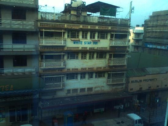 Aponye Hotel: una vista desde el restaurante