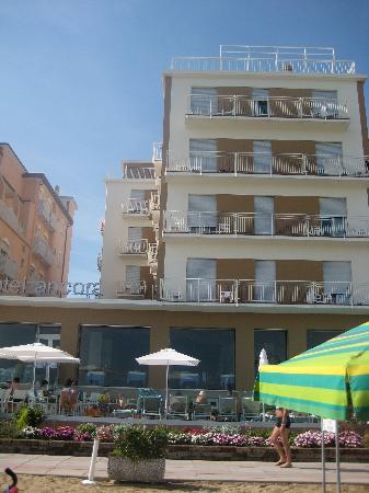 Hotel Ancora : Foto dalla Spiaggia dell'Hotel.