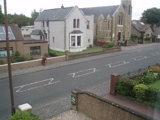 Cruachan Bed and Breakfast : la vista sulla strada ma... molto silenziosa!