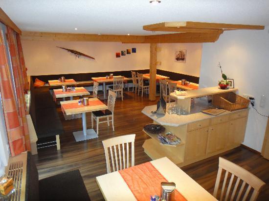 Hotel Garni Ragaz: Frühstücksraum