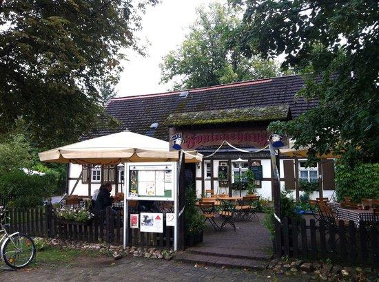 Stechlin, Duitsland: Biergarten