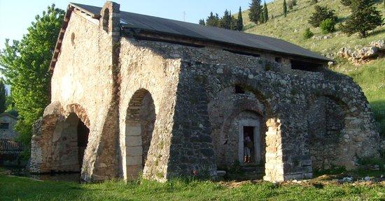 Padula, Italie : Esterno del Battistero