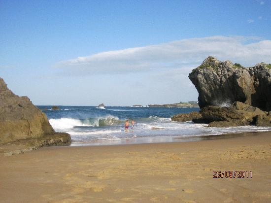 Las Rocas: La playa es genial!!