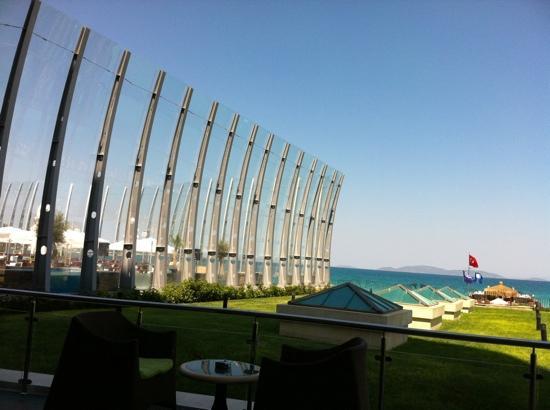 Sheraton Cesme Hotel Resort & Spa: seaside dinner place