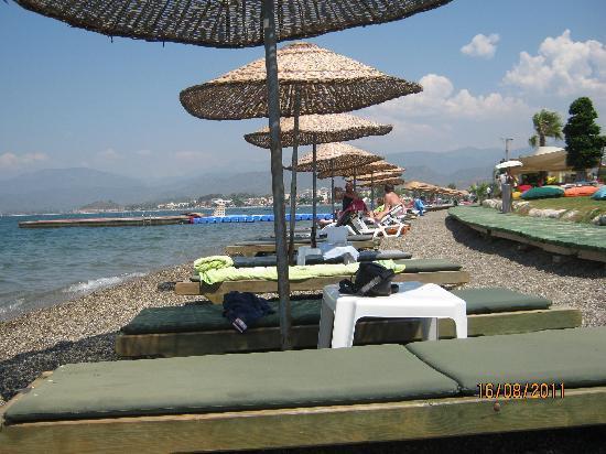 Tugay Hotel: SAT beach club