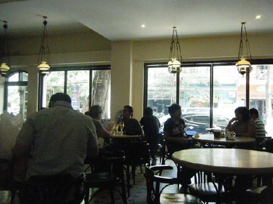 Moca Cafe : 店内3
