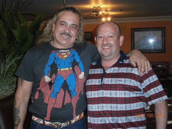Trabolgan Holiday Village: Meeting Wagner after his performance