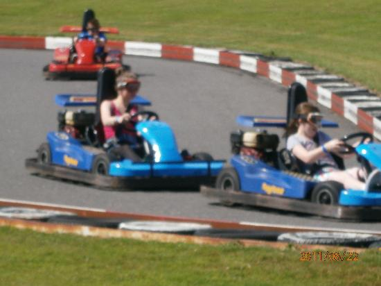 Trabolgan, Ireland: Go-Cart racing for all ages