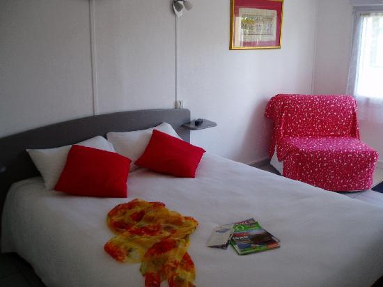 Hotel Les Atlantes: Chambre rez-de-chaussée