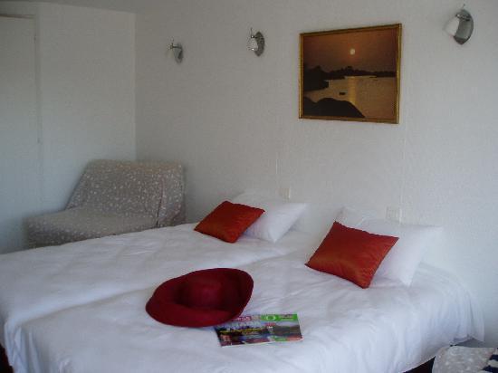 Hotel Les Atlantes: Chambre twin