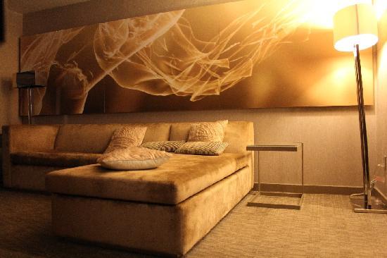 Fanatastic Suite - gemütliches großes Schlafcouch im Wohnzimmer ...