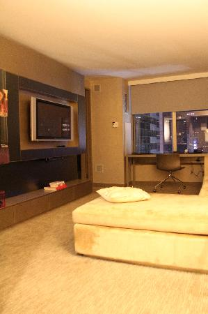 W New York - Times Square: Fanatastic Suite - Wohnzimmer