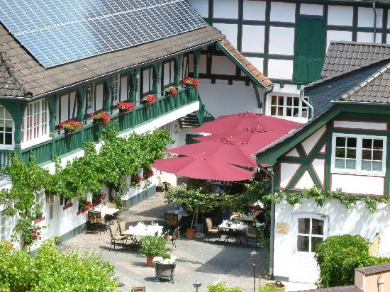 Bad Sobernheim, Germany: Restaurant Terrace
