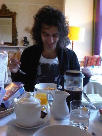 Paradise House B&B: breakfast!!