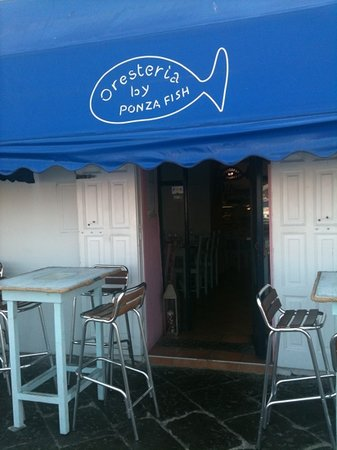 Oresteria by Ponza Fish