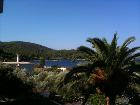 Hotel Panormos Beach Skopelos : Sea view dalla mia camera