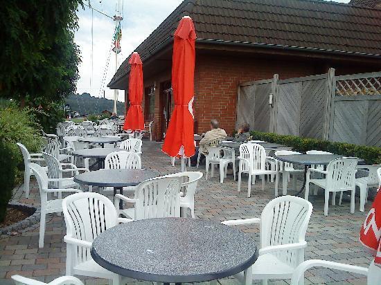 Tespe, Jerman: Terrasse