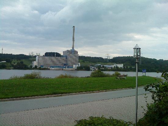 Tespe, Jerman: Blick auf das AKW