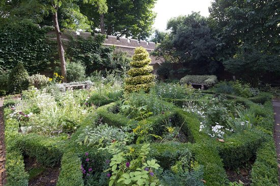 Garden Museum: Our 17thC Style Knot Garden. Image courtesy of Sophie Mutevelian
