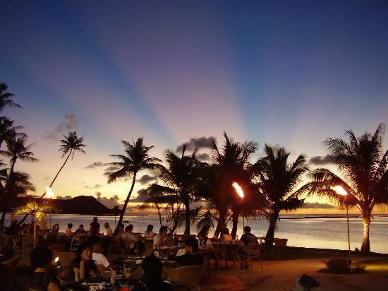 Fiesta Resort Guam: 夕焼けが綺麗
