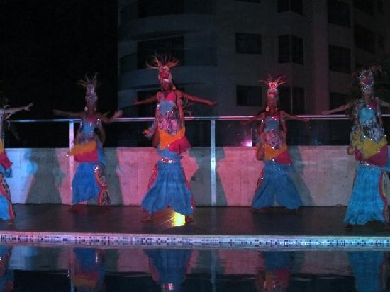 Hotel Cartagena Plaza : Show de la noche