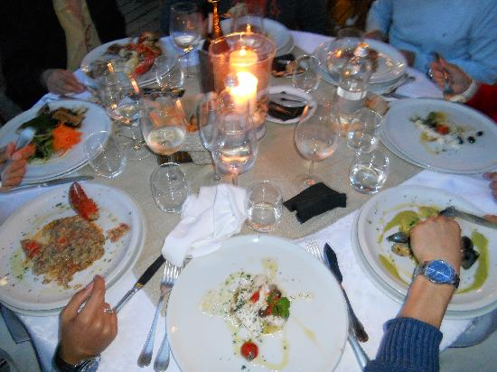 Marina di Bardi: Cena al lume di candela