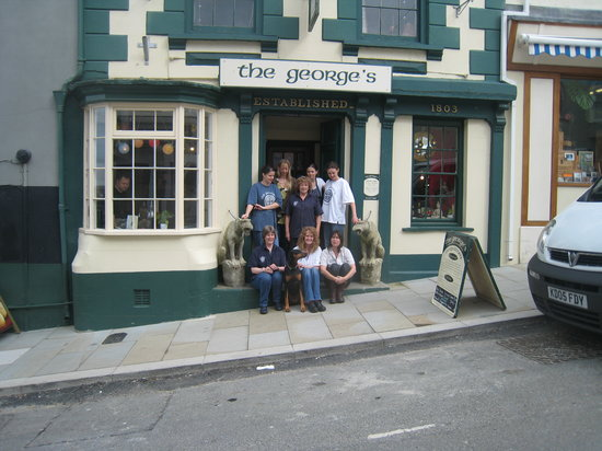 The Georges Restaurant & Cafe Bar: Market St Frontage