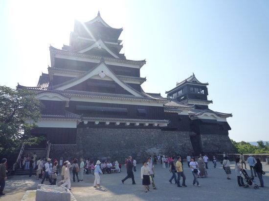 Kumamoto Castle: 正面