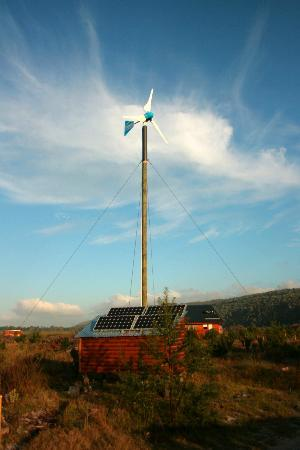 Refections Eco Reserve: Off grid power
