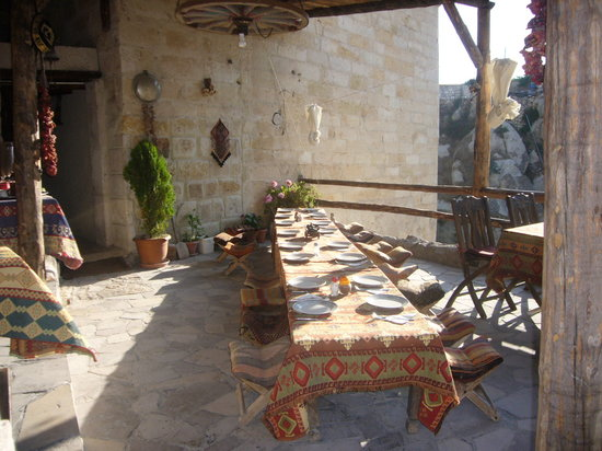 Ortahisar, Turkey: Dining area