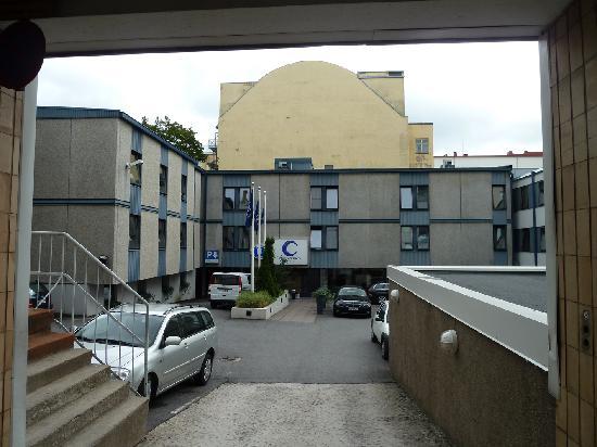 Centro Hotel Turku : Einfahrt zum Hotel
