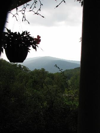 Margaretville Mountain Inn: MMI Gorgeous Porch View