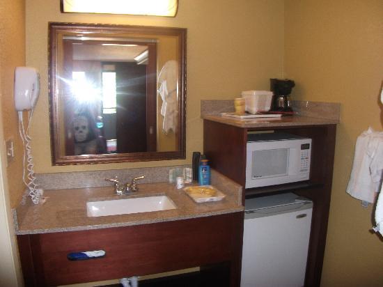 Rosen Inn at Pointe Orlando: Sink Area Very Clean